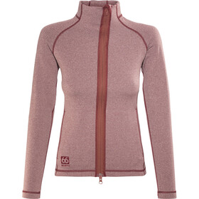 66° North Vik Merled Chaqueta Mujer, ox blood